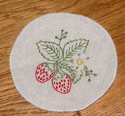Podložka, obrázek - jahody