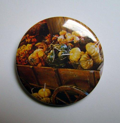 DÝŇOVÝ NÁKLAD - placka - button - 44 mm