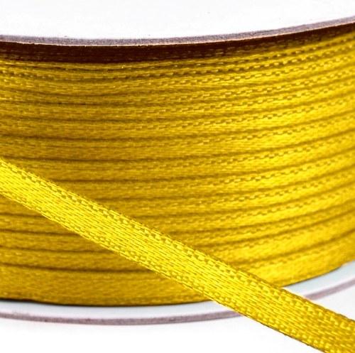 Atlasová stuha 3 mm (5 m) - barva č. 12