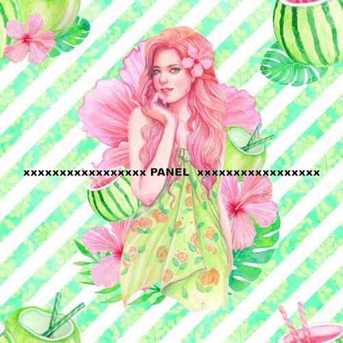 Úpletový panel KOLEKCE HAWAI 50 x 50 cm