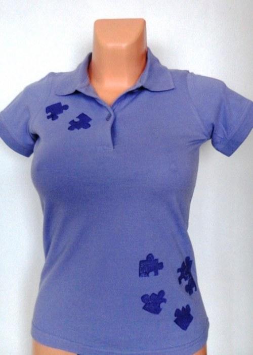 Tričko dámské Puzzle