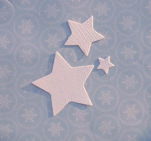 Tři hvězdy (strukturovaný povrch)