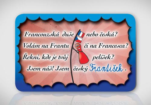 Poetická magnetka se jménem František