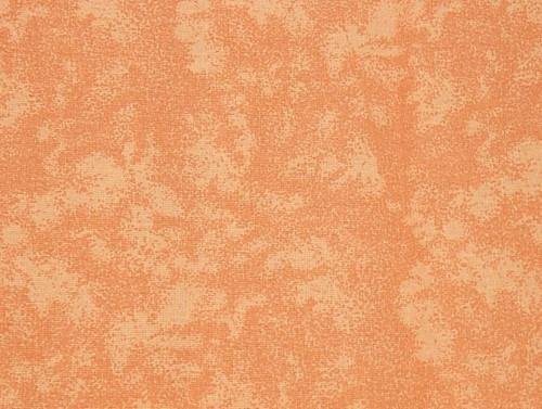 Látka - Oranžový ornament