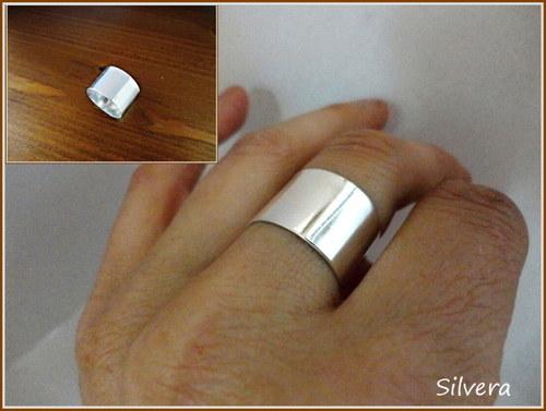 Stříbrný 925 Prstýnek, ... PURE...