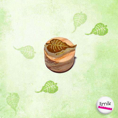 lísteček bodhi - ještě menší minirazítko