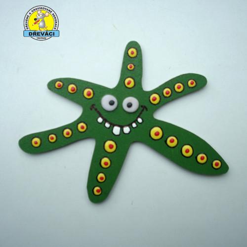 Zelená hvězdice ... R2384