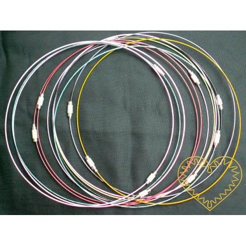 Lanko se zapínáním k výrobě náhrdelníků - Ø 15 cm