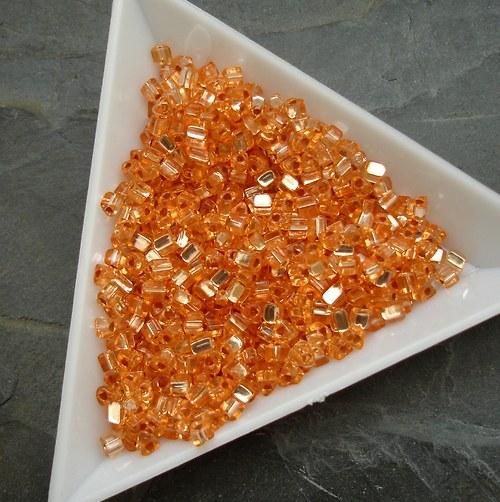 Rokajl oranžový s průtahem - trojúhelníčky - 20g