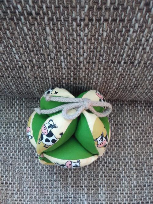 Japonský balónek rozkládací - kravička
