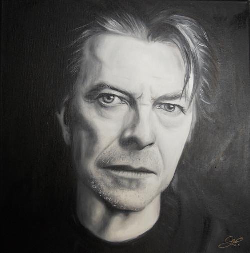 Portrét na zakázku. Olej n.p.40x40cm 2500,-Kč