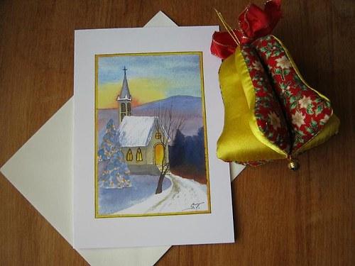 Zimní přání - Kostelík II