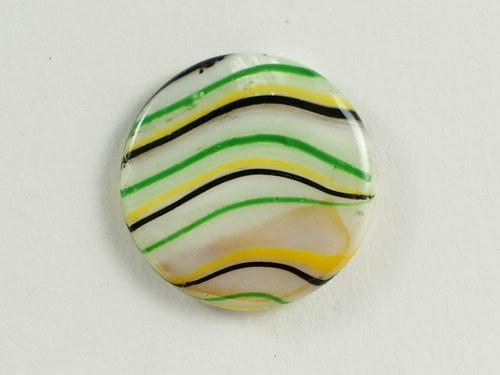 2ks perleťová kolečka 25mm