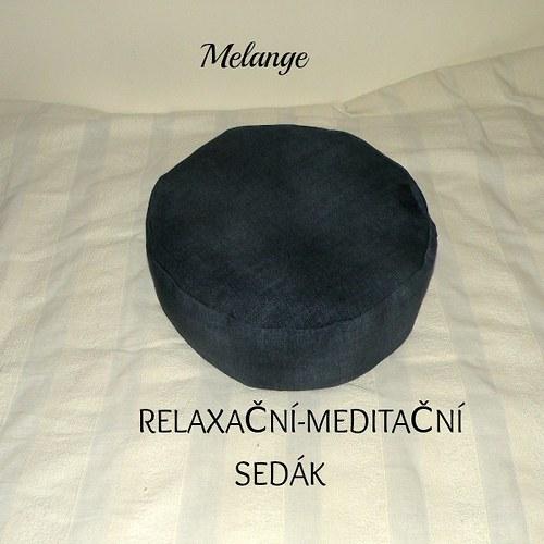 RElaxační-meditační sedák-modrý
