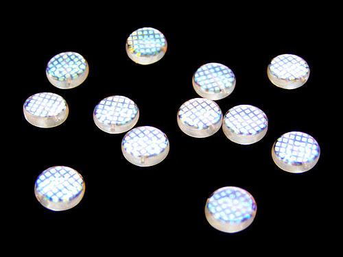 Krystalová kolečka + AB (dekorované přes síto)