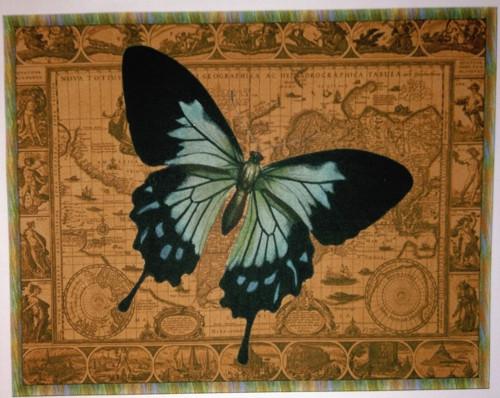 bavlněná látka - panel 23 x 29 cm
