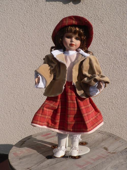 Souprava pro panenky s kabátkem