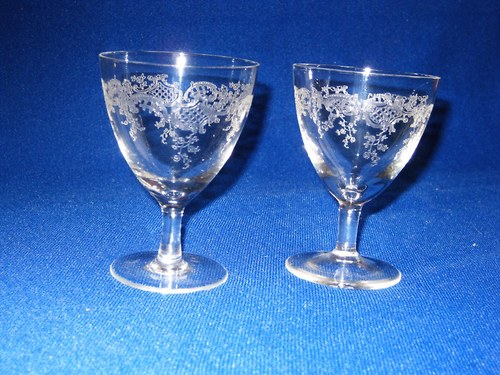 Leptané skleničky