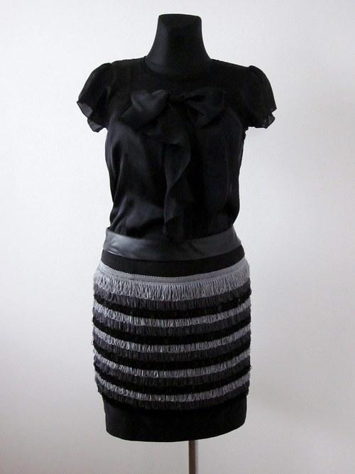 Originálna strapcová sukňa