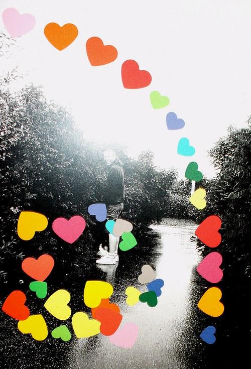 Srdce výseky - mix, 34ks