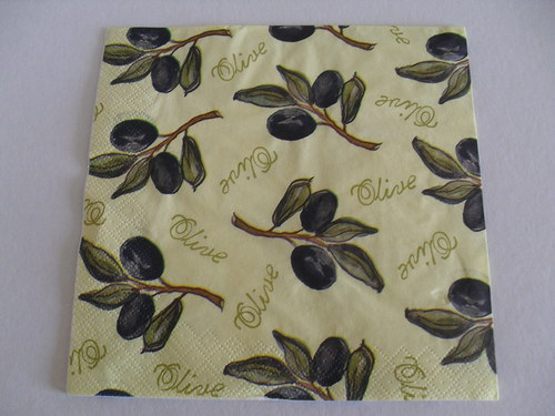 Ubrousek - olivy