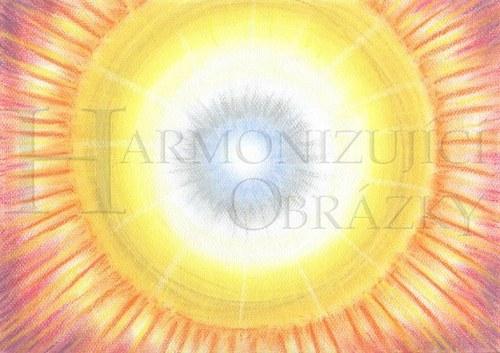 Dvojité Slunce - přáníčko