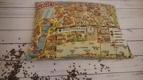 Cestovní pohankový polštář Londýn