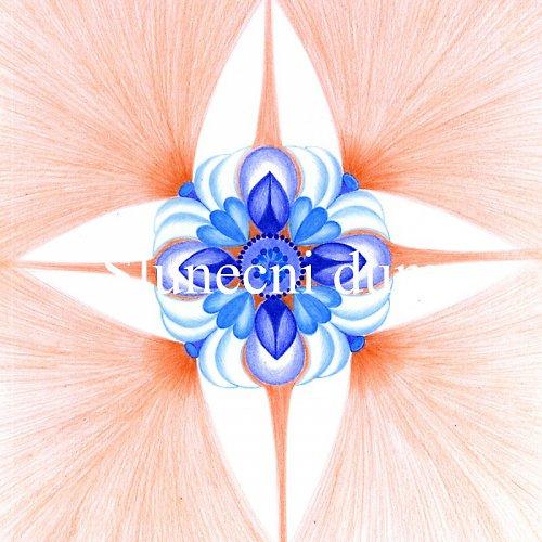 Mandala - Anděl strážný  - Guardian Angel