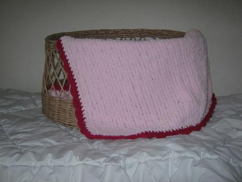 hřejivá deka - růžová