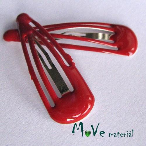 Prolamovačka - spona do vlasů, červená 2ks