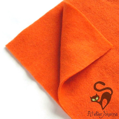 Prefelt plus oranžová