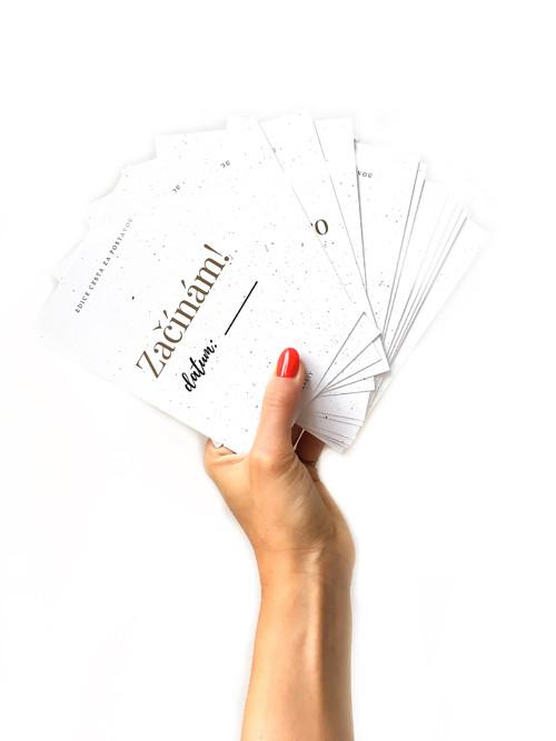 Milníkové karty - cesta za postavou