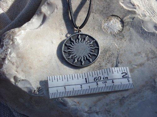 Přívěsek-Sluneční amulet