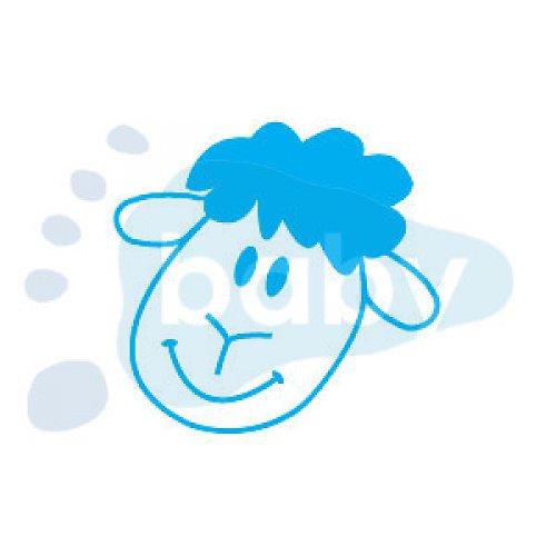 Razítko usměvavá ovečka 5 x 4,5 cm