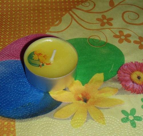 Vonná čajová svíčka velikonoce