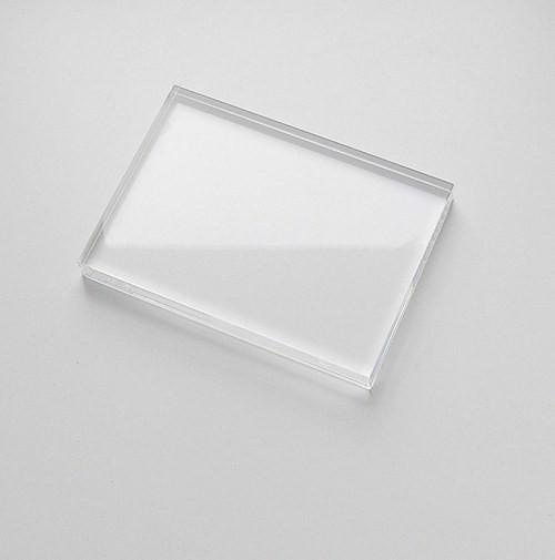 Bloček na silikonová razítka 8 x 6 cm