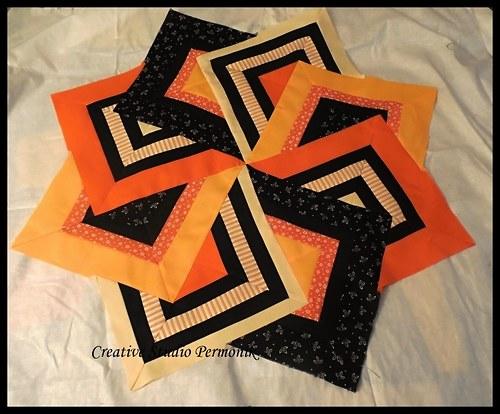 Karetní větrník - online kurz patchworku