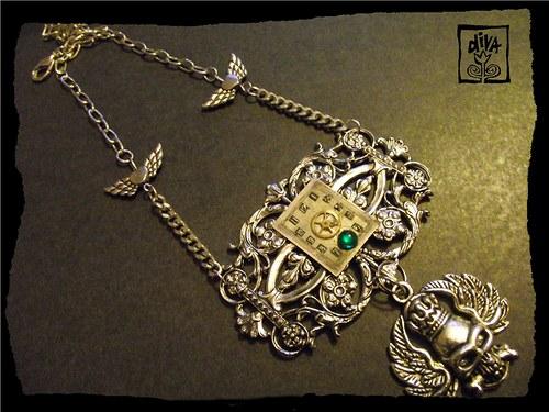 Steampunkový náhrdelník