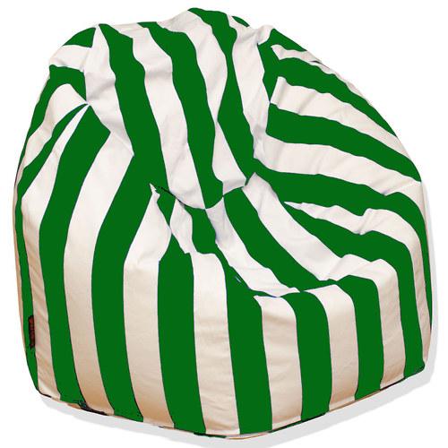 Tradiční sedací vak zelenobílý