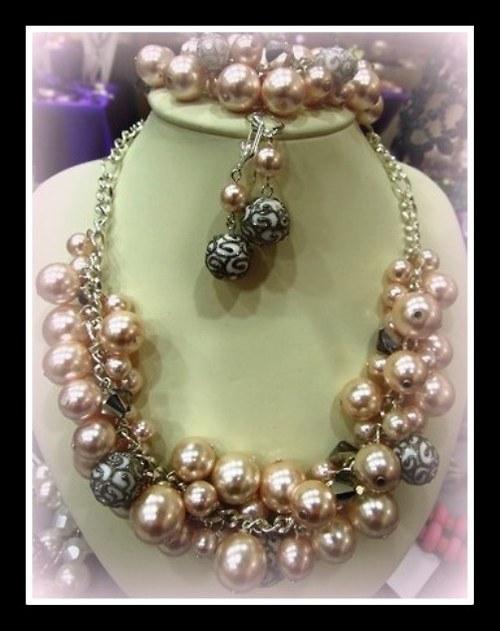 Vienna náhrdelník a náušnice