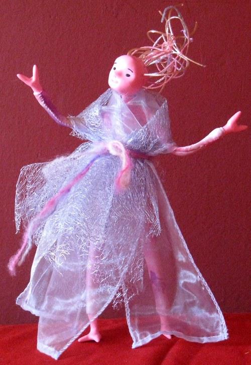autorská panenka mimozemšťanka Lia