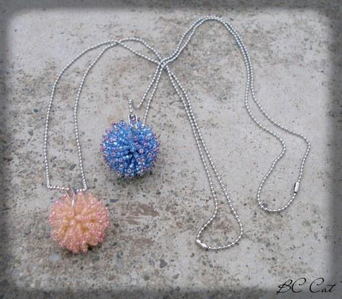 Ježovky - náhrdelník