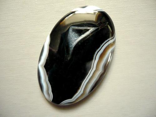 Kabošon - onyx 44 mm, č.5