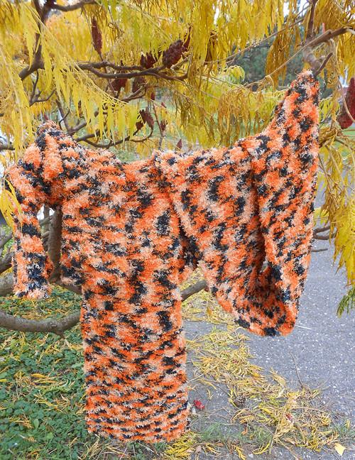 Pletená souprava - Veselý tygr ;-)