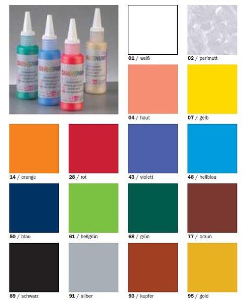 Barva na svíčky a voskové pláty pleťová 04
