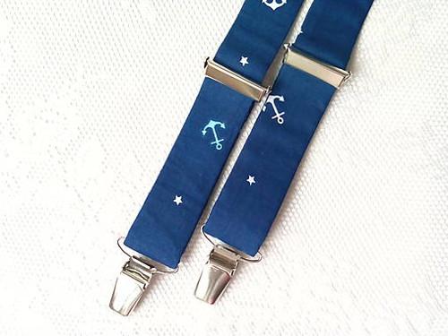 Suspenders for kids (mini sailor)