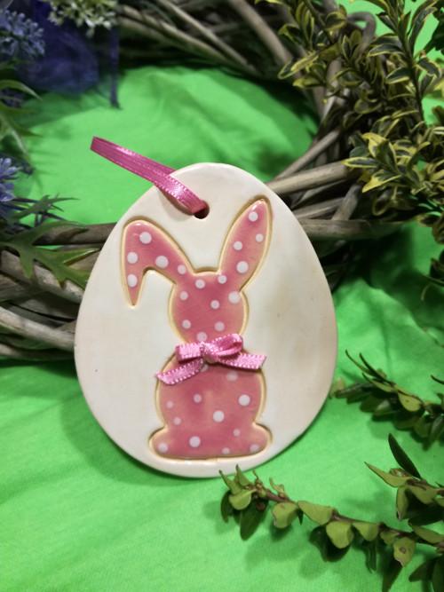 Vajíčko zajíček - růžové