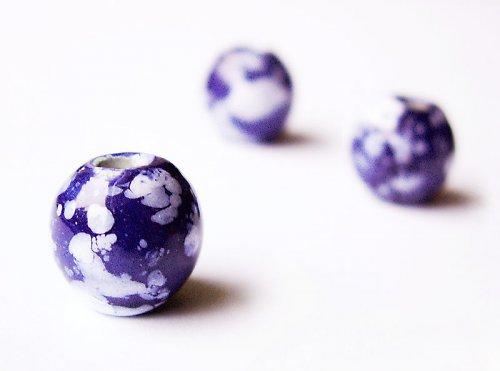 Kulička tmavě modrá - větší ((KOM74))