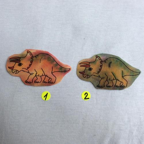 Nažehlovací obrázky - Triceratops