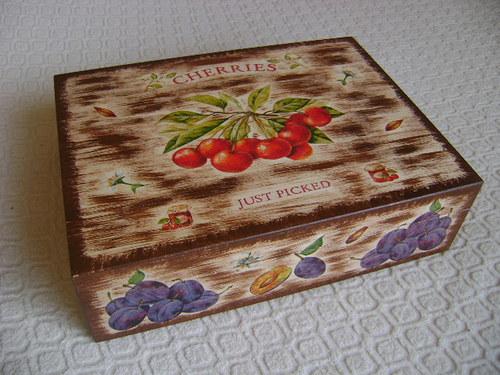 Čajová krabice ovocná